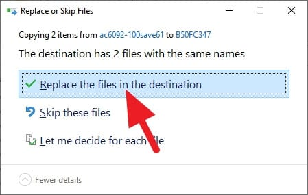 replace the files in the destination - How to Open All Map in GTA V Instantly 13
