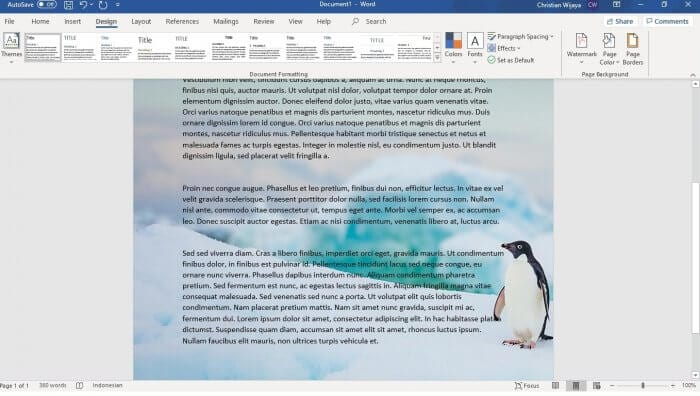 Microsoft Word Picture - How to Change Background Color on Microsoft Word 39