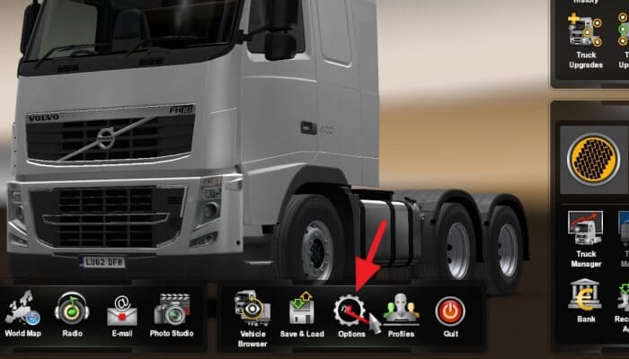 Options - How to Remove 90km/h Speed Limit on ETS 2 5