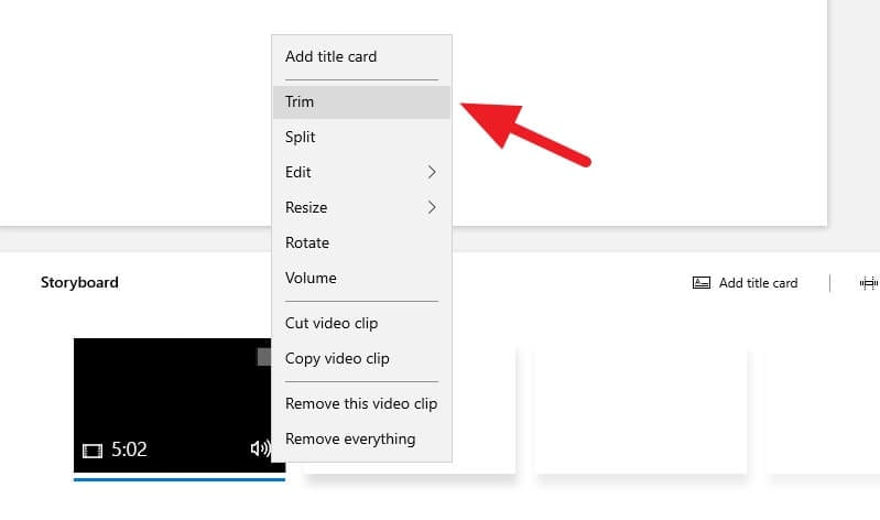 Trim - How to Trim Video on Windows 10 PC Quickly 17