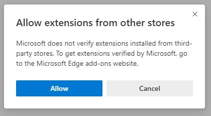 Allow - How to Install Chrome Extension on *NEW* Microsoft Edge 9