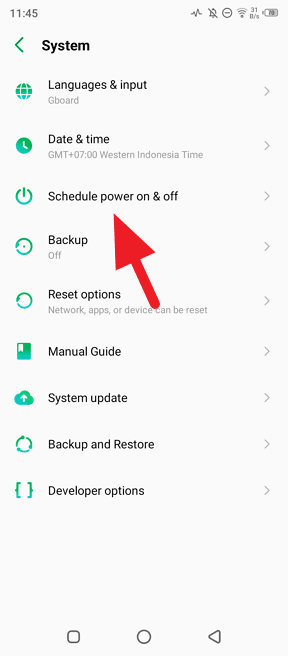 Schedule power on off - How to Schedule Power On/Off on Android 10 7
