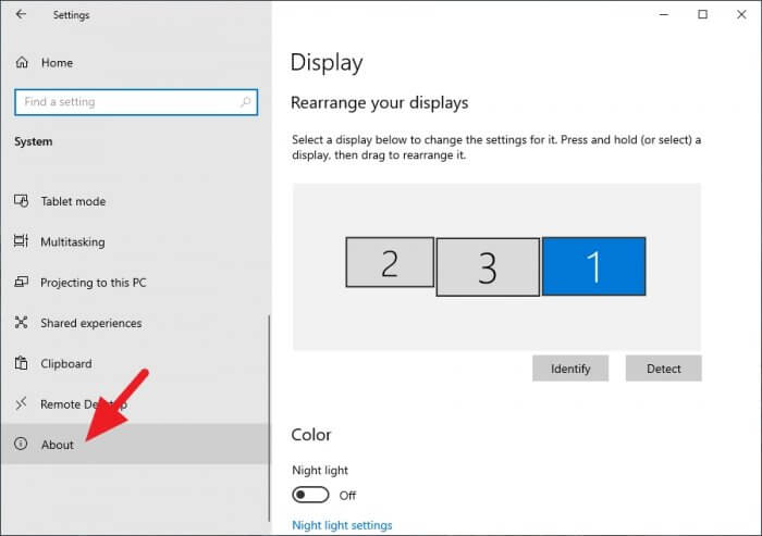 About - How to Rename Your Windows 10 PC 9