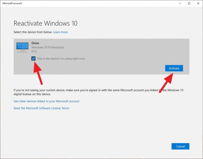 Activate Windows 1 - How to Reactivate Windows 10 After Upgrading PC 13