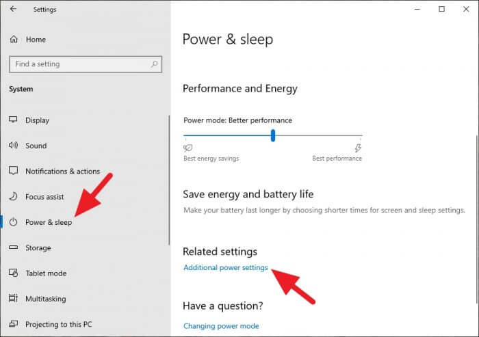Additional power settings - How to Get AMD Ryzen Balanced Power Plan on Windows 10 21