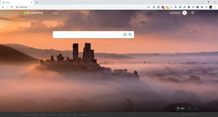 Bing - How to Create Web Shortcut on Chrome PC 5