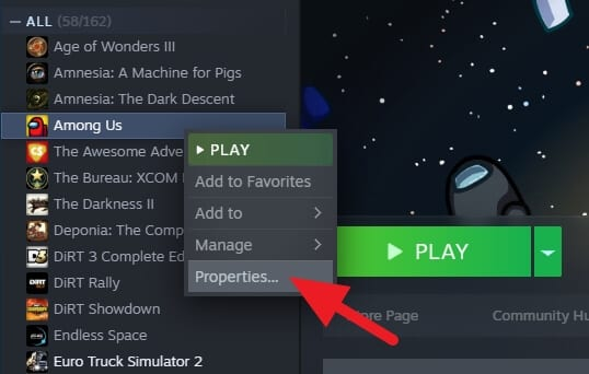 Game Properties Steam - How to Easily Move Steam Games to Other Disk Without Reinstall 11