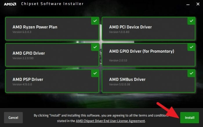 Install all of them 1 - How to Get AMD Ryzen Balanced Power Plan on Windows 10 11