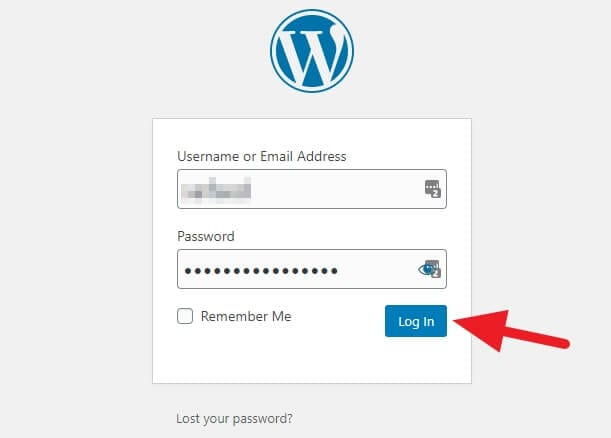 Log in WP Admin - How to Install WordPress Subdirectory on Cloudways 51
