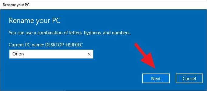 - How to Rename Your Windows 10 PC 3