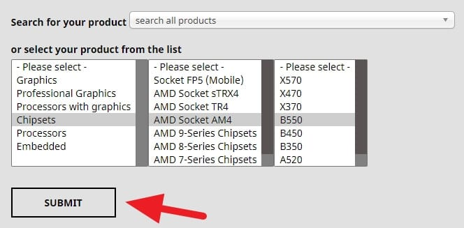 Select chipset - How to Get AMD Ryzen Balanced Power Plan on Windows 10 5