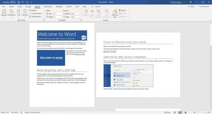 Select page landscape - How to Make Microsoft Word Document to Landscape 3
