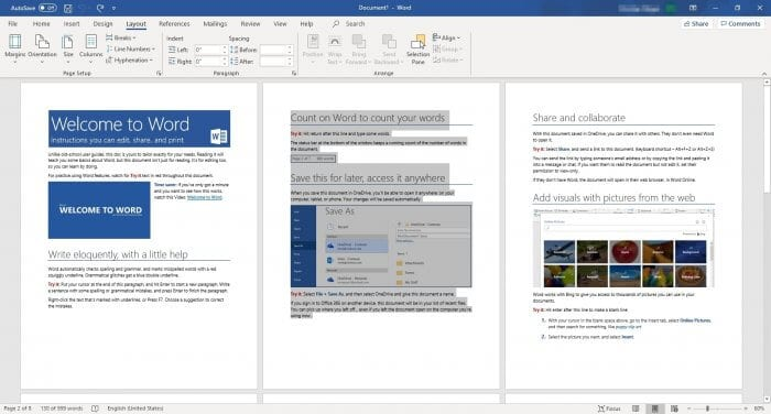 Select text 2 - How to Make Microsoft Word Document to Landscape 11