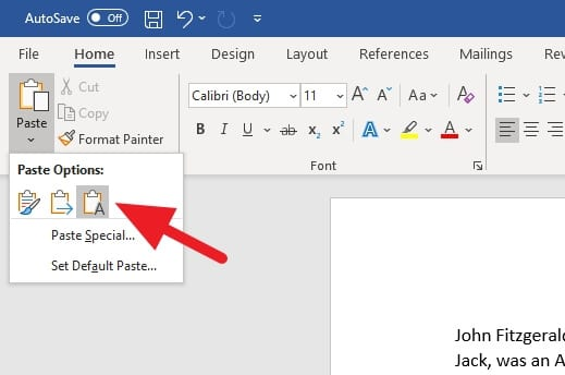 Keep Text Only - How to Clear Text Formatting in Microsoft Word 5