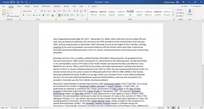 Remove formatting Word - How to Clear Text Formatting in Microsoft Word 3