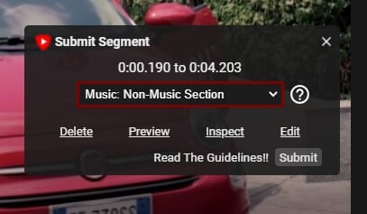 Submit segment - How to Auto Skip Sponsored Messages on Youtube Videos 17