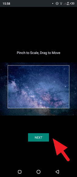 Adjust scale - How to Add a Background Photo to Android Keyboard 13