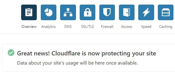 Cloudflare active - How to Install Free SSL from Cloudflare on Any Web Platform 3