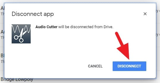 Disconnect 1 - How to Disconnect Third-Party Apps from Google Drive 11