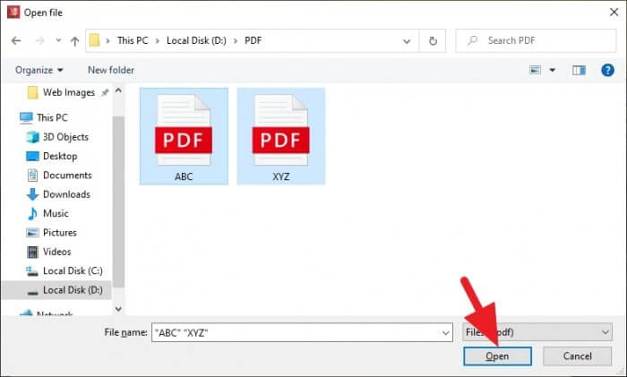 Open PDF - How to Merge Multiple PDFs into One 11