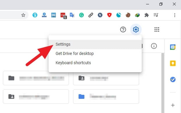Settings Google Drive - How to Disconnect Third-Party Apps from Google Drive 5
