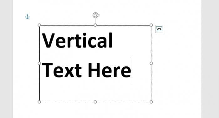 Text - How to Instantly Create Vertical Text in Microsoft Word 11