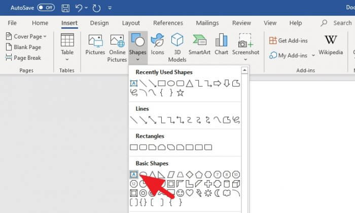 Text Box - How to Instantly Create Vertical Text in Microsoft Word 7