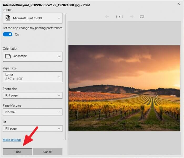 Print 1 - How to Save a Picture as a PDF Using Microsoft Photos 11