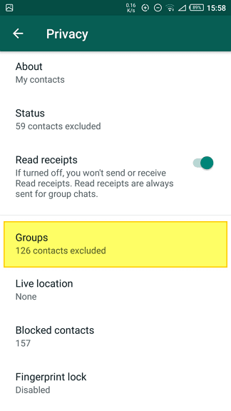 Everyone - How to Stop Everyone from Adding You to WhatsApp Group 17