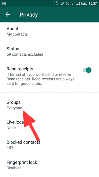 Groups - How to Stop Everyone from Adding You to WhatsApp Group 11