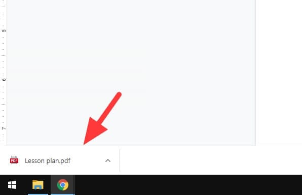 PDF from Google Docs - How to Quickly Save Google Docs Document as PDF 9