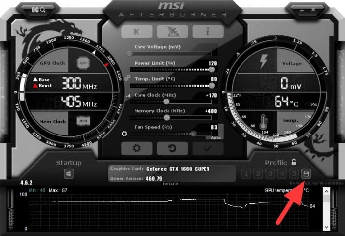 Save profile - How to Safely Overclock Your GPU for Higher Game FPS 21