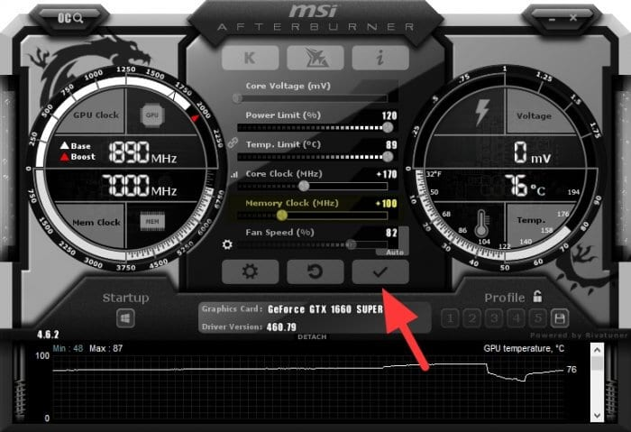 memory clock - How to Safely Overclock Your GPU for Higher Game FPS 17
