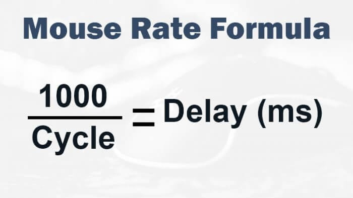 mouse rate formula - How to Check Your Mouse Responsiveness Level 9